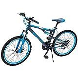 Benotto Bicicleta Mach 1 MTB Acero R26 21V Hombre Shimano Frenos Doble Disco