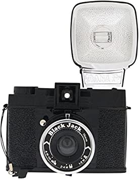 Lomography Camera Diana F+ Black Jack (w/ 571 Mirrorless System Cameras at amazon