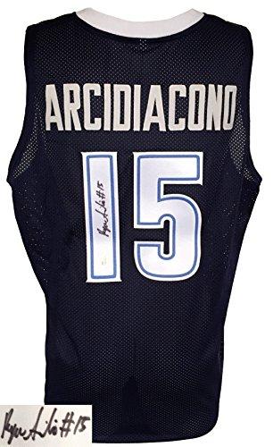 Villanova Ryan Arcidiacono Signed Custom College Basketball Jersey JSA