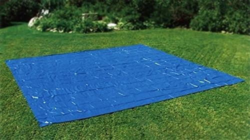 Swimming Pool Tarp (SUMMER WAVES Ground Cloth for 26' Ring or Frame Pools)