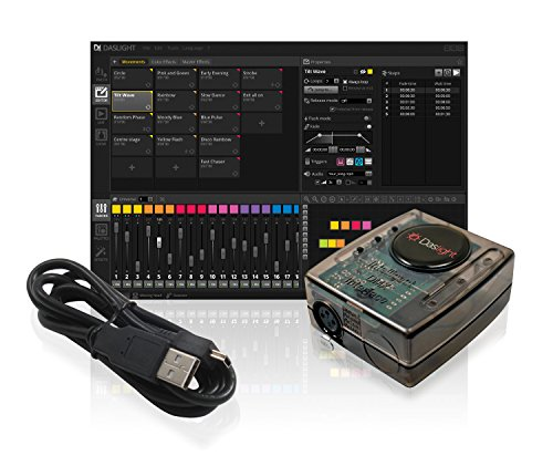 tual Controller DMX USB Lighting Interface by Nicolaudie (Dmx Software)