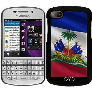 Funda para Blackberry BB Q10 - Bandera De Haití by Carsten Reisinger