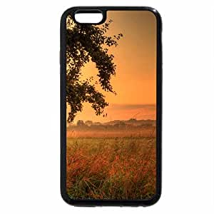 iPhone 6S Plus Case, iPhone 6 Plus Case, gorgeous sunset over rural fields