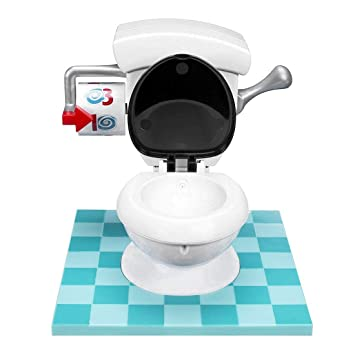 YICOTA Toilet Trouble Family Fun Game for 2 or More Players