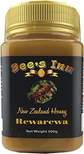 Bees Inn Rewarewa Honey from New Zealand, 17.6oz (500g) Pure Natural Raw Honey