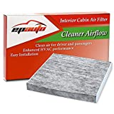 EPAuto CP134 (CF10134) Replacement for Honda & Acura Premium Cabin Air Filter includes Activated Carbon