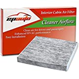 EPAuto CP134 (CF10134) Honda & Acura Replacement Premium Cabin Air Filter includes Activated Carbon