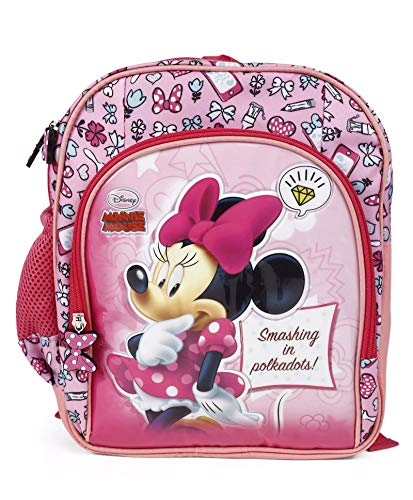 HM Disney Polyester 32 cms Multi School Backpack (HMHMSB 71178-MN)