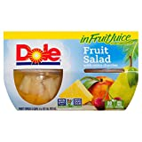 Dole Fruit Salad with Extra Cherries in Fruit Juice, 4 Count