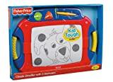 Fisher-Price Kid-Tough Classic Doodler with 2 Stampers, Red