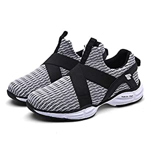 Aurorax Womens 2020 New Lightweight Breathable Mesh Sports Shoes Athletic Slip-On Running Sneakers Shoe