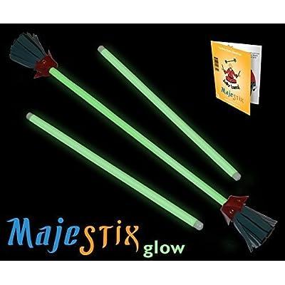 Jolly Lama! Majestix Glow in The Dark Juggling Devil Sticks: Toys & Games