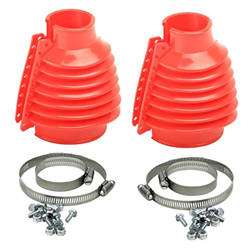Empi 00-9981-0 VW Bug, Beetle, Baja, Buggy, Type 1 Deluxe Swing Axle Boot, Red, Pair