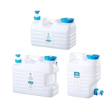SinceY Cubo Plegable de Camping telescópico barriles de Cerveza portátil depósito de Agua Potable doméstico Multifuncional