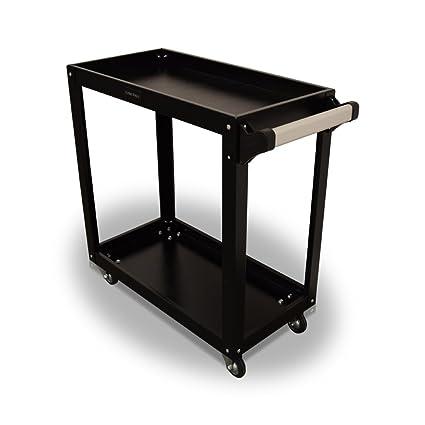 US PRO herramientas caja de estación de trabajo de acero negro carro de herramientas con ruedas