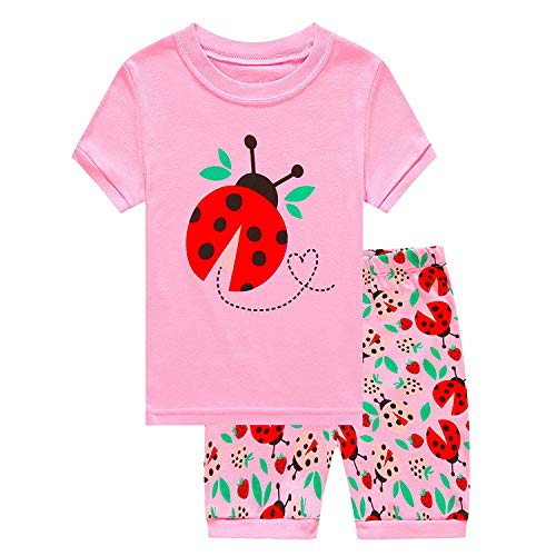 Cute Ideas For A Ladybug Costumes - Little Ladybugs Pajamas for Toddler Girls
