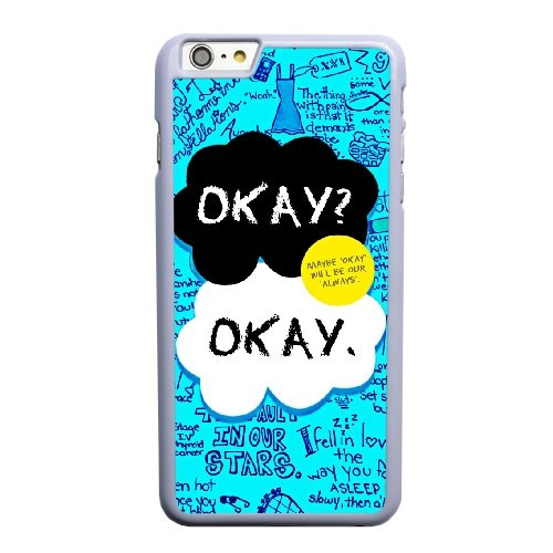 Coque,Coque iphone 6 6S 4.7 pouce Case Coque, The Fault In Our Stars, Okay Cover For Coque iphone 6 6S 4.7 pouce Cell Phone Case Cover blanc
