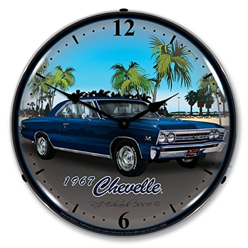 Chevelle Collectibles (Collectable Sign and Clock GMRE903202 14