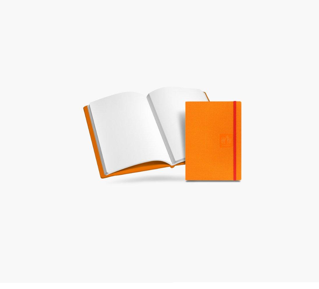 Caran dAche A5 Notebook lienzo Cvr Orng blnk: Amazon.es: Hogar