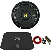 Kicker 40CWD122 Comp 12 Sub with 480 Watt DUB Series Amp and wire kit