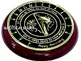 Wedding Anniversary Sundial Gift With Base