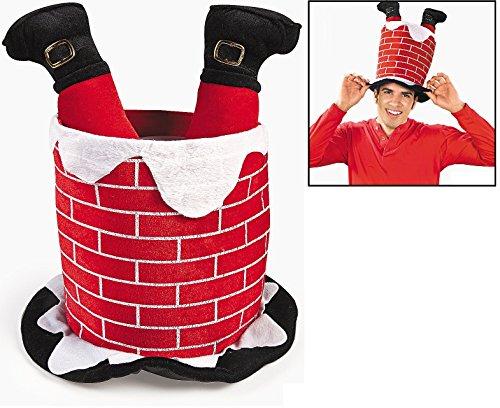 (Chimney Hat with Santa's Legs. 17