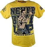 John Cena Yellow Ten Years Strong Kids T-Shirt Boys-YS