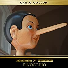 Pinocchio Audiobook by Carlo Collodi Narrated by Brian Kelly