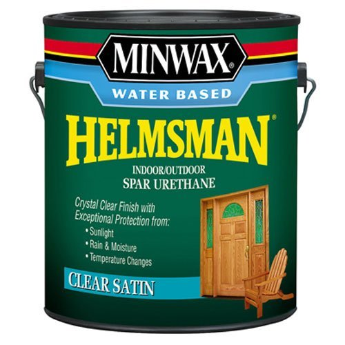 Minwax 710520000 Water Based Helmsman Spar Urethane, gallon, Satin by Minwax