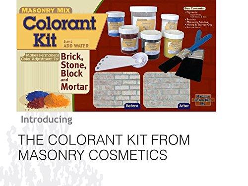 Brick Staining - Colorant Kit (Brick Scouring)