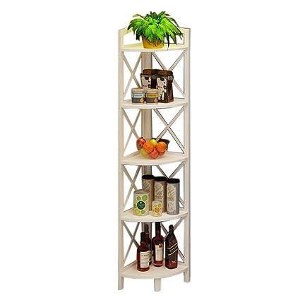Amazon Com Jcnfa Shelves Corner Bookcase Multifunctional