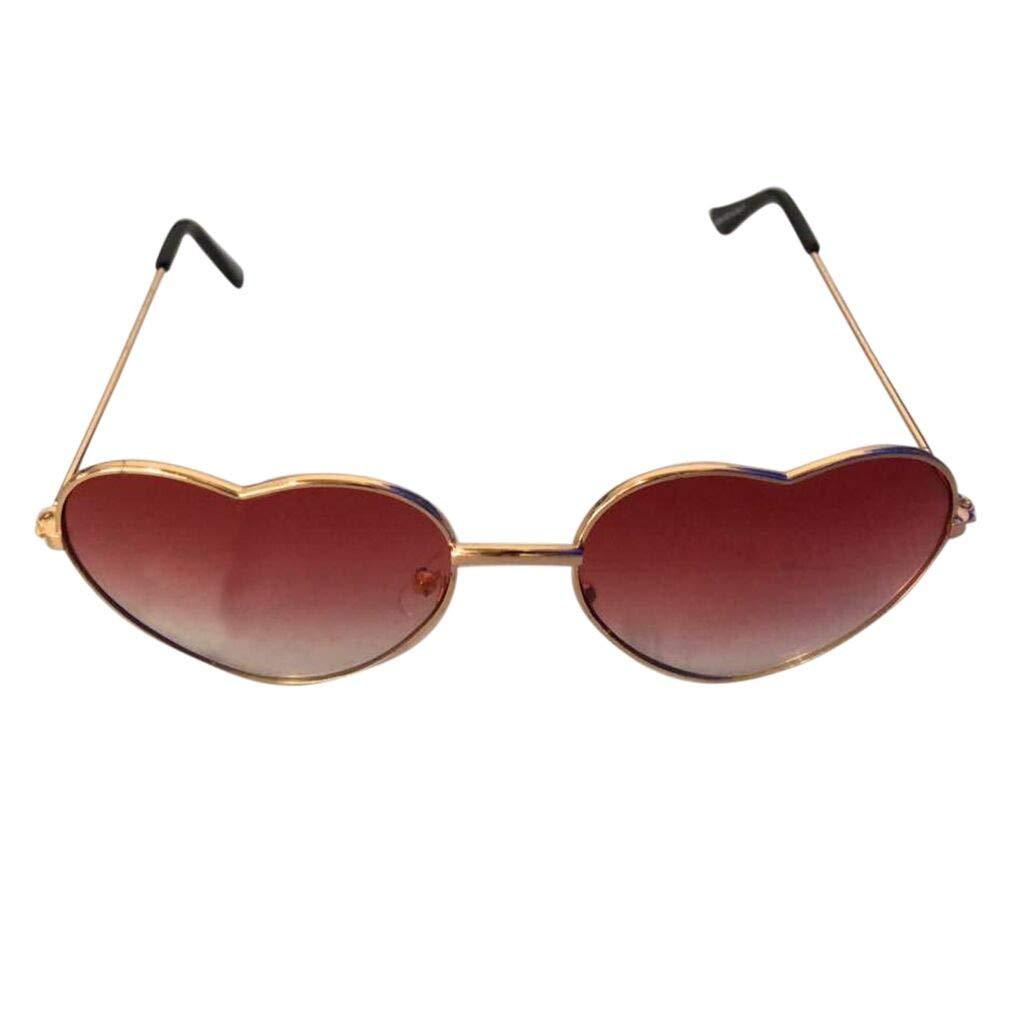 VECDY Gafas De Sol Gafas Retro Unisex Vintage Amor Moda ...