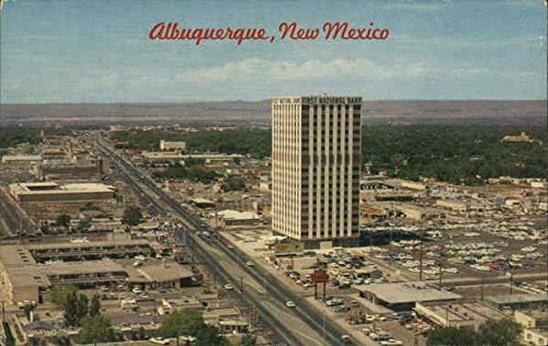 East Central Avenue - HIghway 66 through Uptown Albuquerque, New Mexico Original Vintage - Albuquerque Uptown