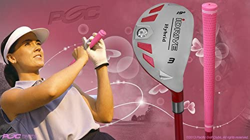 Integra Petite Senior Women s iDrive Golf Club Hybrid 3 Right Handed Utility Senior Flex Club Perfect for Petite Shorter Women 4 10 to 5 3 Tall 55 Years Old
