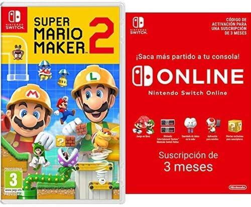 Super Mario Maker 2 [Nintendo Switch] + Switch Online 12 Meses Familiar [Codice Download]: Amazon.es: Videojuegos