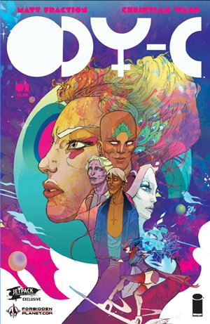 Download Ody-c #1 Forbidden Planet/Jetpack Comics Variant (Mr) ebook