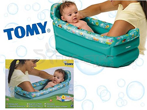 new inflatable baby bath tub toddler infant kids portable home travel compact ebay. Black Bedroom Furniture Sets. Home Design Ideas