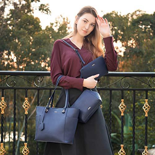 Hobo 3pcs Bag Lovevook Crossbody Blue Large Purses And Women Handbags Chic Capacity xnq8Owq10