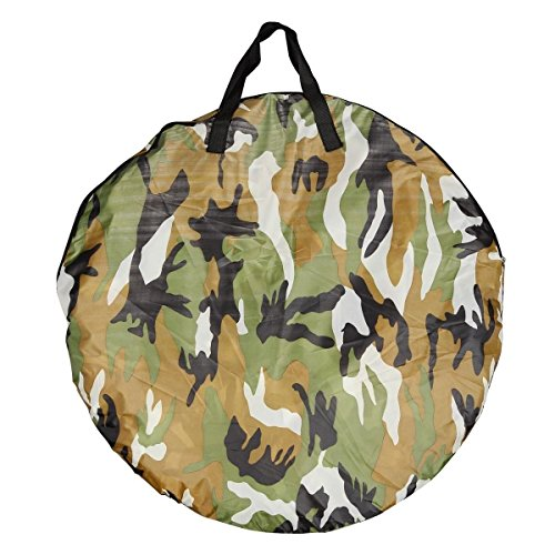 Generic YC-US2-160128-185 <8&30811> ouflageg Toilet Ch Toilet Changing Tent Portable Pop UP Camping Room Fishing & Bathing Camouflage Portable Po by Generic (Image #4)