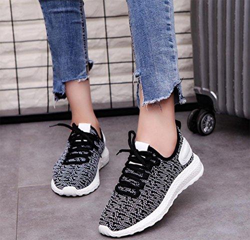 las US6 zapatos se 5 planos o de oras 7 mujeres ligeros CN37 EU37 zapatos deportes oto 5 UK4 las zapatos mujeres las MEI de zapatos zapatos netos 5 de 1qvwP7R