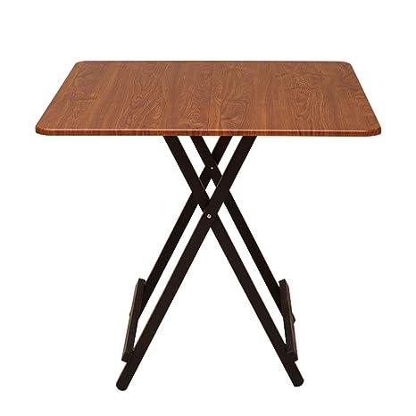 Amazon.com: Mesa de comedor plegable para el hogar, mesa de ...