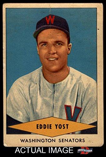 1954 Red Heart Eddie Yost Washington Senators (Baseball C...