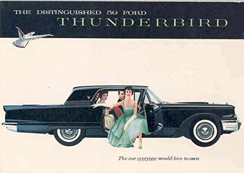 1959 Ford Thunderbird Brochure (Thunderbird Brochure)