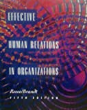 Effective Human Relations Organization, Reece, Barry L., 0395638925