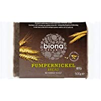 Biona Organic Rye Bread Pumpernickel 500g