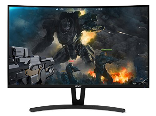 "Acer Gaming Monitor 27"" Curved ED273 Abidpx 1920 x 1080 144Hz Refresh Rate AMD FREESYNC Technology (Display Port, HDMI & DVI Ports)"