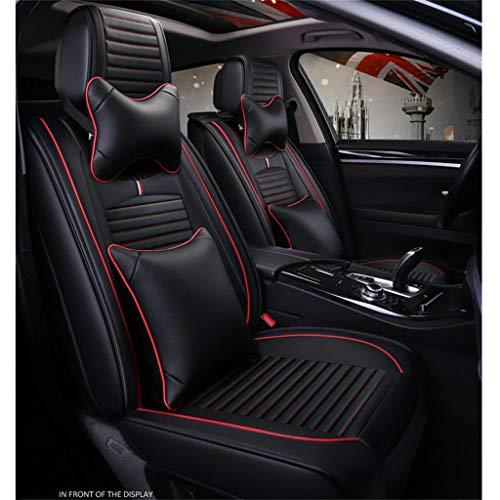 LLYQCZD Car Seat Cushion Four Seasons Universal 5 Seats Universal Comfortable Car Interior Products Black: Garden & Outdoors