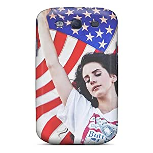 Shock-Absorbing Hard Cell-phone Cases For Samsung Galaxy S3 With Custom Realistic Lana Del Rey Ride Image IanJoeyPatricia