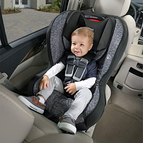 51Vysg5broL - Britax Allegiance 3 Stage Convertible Car Seat   1 Layer Impact Protection - Rear & Forward Facing - 5 To 65 Pounds, Azul