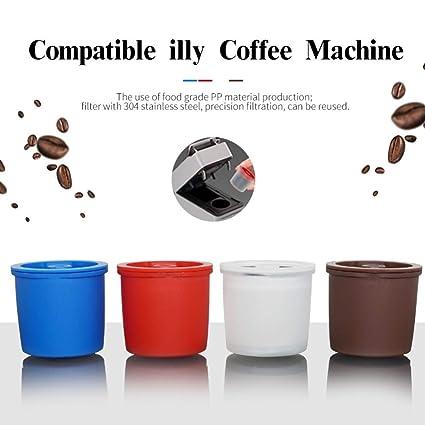 Sunshay - Pack de 1 taza de café reutilizable de acero ...
